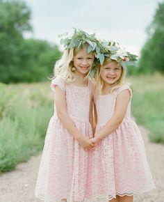 10 Stylish Flower Girl Looks Laura Murray Photography blog.TheKnot.com