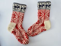 Hand knit thick soft wool socks to buy europe by WoolSpace
