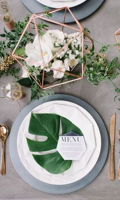Explore some terrarium centerpieces! We love the style and simplicity they offer. Effortless elegance. #simple #style #tablescape #PSWeddingsAndEvents