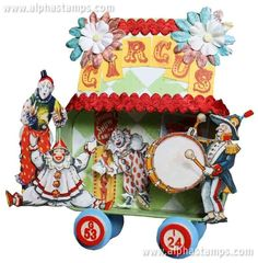 Circus Train Car Swap