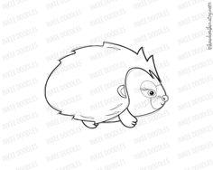 Baby Female Hedgehog Clip Art Clipart Black Doodle Digital Stamp 30044, part of a10 piece set, by Inkee Doodles, $5.00, #Baby #Female #Hedgehog #Clip #Art #Clipart #Black #Doodle #Digital #Stamp #etsy #digitalstamp #clipartset
