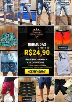 Bermuda Destroyed, Moda Fitness, Tomboy, Digital Marketing, Boutique, How To Make, Shopping, Instagram, Fashion