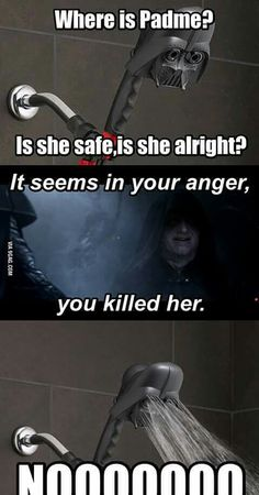 Why must this make me laugh?// didnt like when they did this in the prequels…