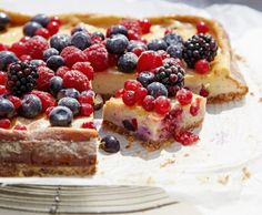 Cheesecake alle bacche