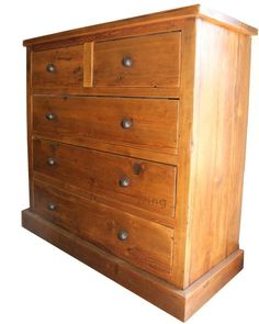 Bremnes Reclaimed Wood Chest Of Drawers - Modish Living
