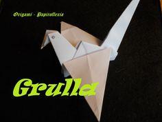 Origami - Papiroflexia. Tutorial: Grulla, dificultad media fácil