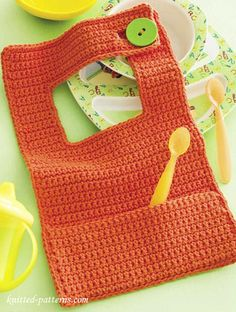 Baby bib crochet pattern free