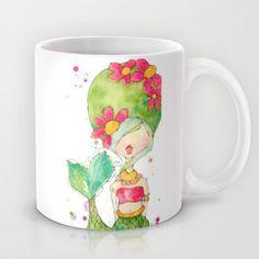 one mod mermaid mug