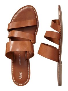 Gap | Strappy sandals - I just bought these today!  So comfy and stylish!