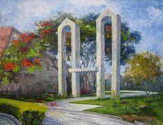 Mosteiro de São Bento em Vinhedo- óleo