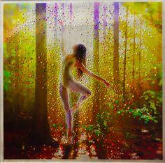 Imagem faz Dançarino Forest - Redescobrir a luz - Pintura Original