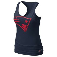 Ladies Nike Tri Big Logo Tank-Navy