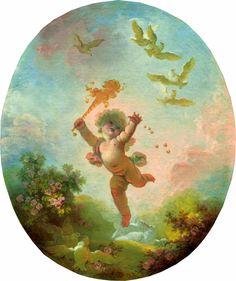 The Athenaeum - Love as Folly (Jean-Honore Fragonard)