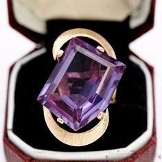 Antique Vintage C 1920 Deco 14k Gold 23 87 C Corundum Alexandrite Ring Sz 5 5   eBay