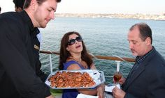 Groupon - Sights & Sips Sunset Cruise for One, Two, or Four with Drinks at Hornblower San Diego (Up to 44% Off) in Embarcadero. Groupon deal price: $37