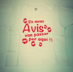 Camisetas personalizadas desde 3 meses. www.rockubaby.es