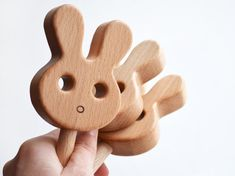 Wooden play food 16pcs wooden vegetables wooden fruits eco cute bunny shape rattle animal shaped wooden rattle baby rattle toy easter bunny easter basket stuffer new baby gift wooden toy negle Gallery