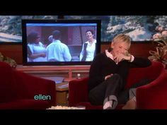 A group of unsuspecting people took a Warner Brothers tour... and had no idea they were walking into one of Ellen's hidden camera pranks! Their tour guide was wearing an earpiece and could only say what Ellen told him to say!