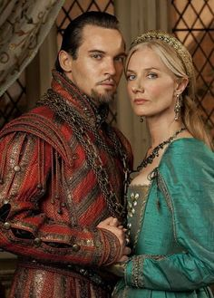 Jonathan Rhys Meyers as England's most notorious king, Henry VIII and Joely Richardson as Catherine Parr, his sixth and last wife.
