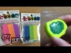 レジン用着色顔料を持っていないので百均のパステルで色付け。uv resin レジンの作り方 - YouTube