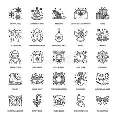 Set of Education and Knowledge Icon Solid Vector Icons. #