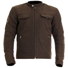 RST Crosby Textile Jacket - Brown Thumb 0