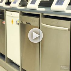 Watch: We found the best new dishwasher features for you! http://www.bhg.com/videos/m/100739435/how-to-shop-for-the-best-new-dishwasher-features.htm?socsrc=bhgpin021315dishwashers
