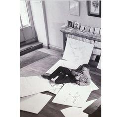 Jean Cocteau Jean Cocteau, Idol, Polaroid Film