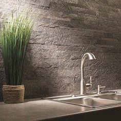 Aspect 6 x 24-inch Weathered Quartz Peel and Stick Stone Backsplash | http://Overstock.com Shopping - The Best Deals on Backsplash Tiles