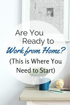 There's so many work from home jobs and opportunities, it can be difficult to figure out where to begin. This get-started guide is perfect for beginners who want to work from home but just don't know where to start. Make Money Fast, Make Money Blogging, Make Money From Home, Make Money Online, Managing Money, Money Today, Saving Money, Work From Home Opportunities, Work From Home Tips