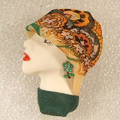 Lady Head Brooch Flappers, Head Pins, Doll, Lady, Puppet, Dolls, Baby