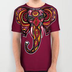 Elephant All Over Print Shirt