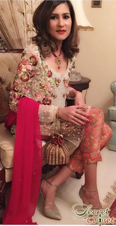 Every year the trend of ladies dresses has been appearing with so many changes. Ladies Fancy Dresses in Pakistan consist of formal and luxury evening. Check out fancy dresses for girls and women here Pakistani Wedding Dresses, Pakistani Bridal, Pakistani Outfits, Indian Dresses, Indian Outfits, Wedding Gowns, Pakistani Mehndi, Walima Dress, Wedding Girl
