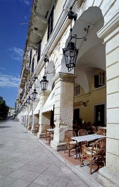 Liston Arcade ~ Corfu Island, Greece | Flickr - Photo by Katka S.