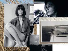 EQUIPMENT® Lookbook: Daria Werbowy Self Portraits 2014