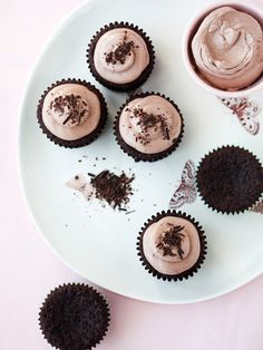 Chocolate, Banana and Teff Cupcakes Recipe