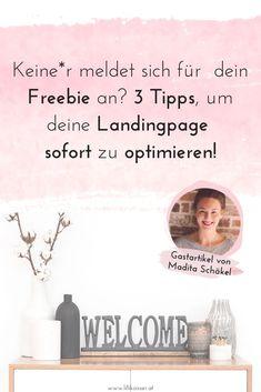Was du noch heute tun kannst, um mehr Anfragen oder Abonnenten zu gewinnen, erzählt dir Conversion-Texterin Madita Schäkel in ihrem Gastbeitrag auf meinem Blog.