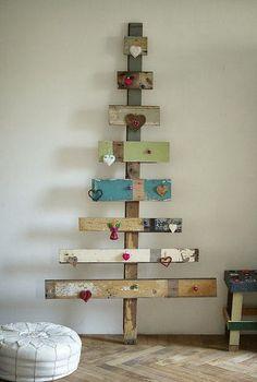 Que tal uma decoração de Natal diferente?