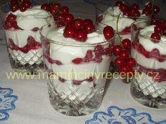 Tvarohové osvěžení Food And Drink, Ice Cream, Pudding, Drinks, Desserts, Cups, Mascarpone, No Churn Ice Cream, Drinking