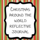 FREE Christmas Around the World reflective journal - it's never too early! =)