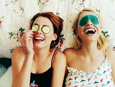 Instead of the typical Girls' Night Out dinner or drinks, why not host a casual Girls' Night In instead? Here are seven creative ideas for a fun night in.