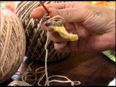 Mulher.com 15/01/2013 Cristina Luriko - Tapete flôr tons mesclados de marrom 1/2