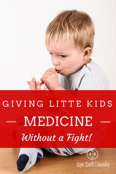 How to give sick kids medicine without a fight! Great hack for toddlers and younger kids.  via @herchel1