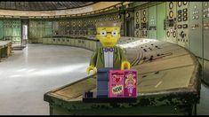 LEGO Waylon Smithers Minifigure 71009-15 LEGO Simpsons Minifigures Serie... Lego Simpsons, Krusty The Clown, Stop Motion, Building, Pictures, Photos, Buildings, Construction, Grimm