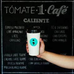Punto y coma, Café e imprenta - Graphic Design - Diseño Gráfico - Hipster Branding Logo