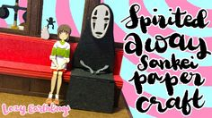 Miniatuart Kit Studio Ghibli Series : Spirited Away Paper Craft DIY  Studio Ghibli Spirited Away Sen to Chihiro no kamikakushi paper craft by Sankei company. Build time took about 2 hours in total during different days. Overall it is very satisfying :)