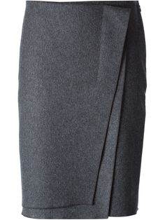 Nina Ricci Layered Wrap Skirt - Davinci - Farfetch.com