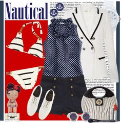 """""""Nautical"""" by fashion-mariquita-camy on Polyvore"""