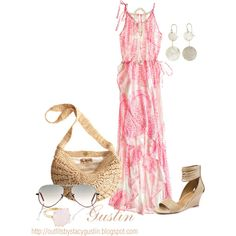 maxi, created by stacy-gustin on Polyvore