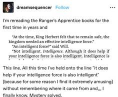 Ranger's Apprentice, Best Series, Book Fandoms, Book Of Life, Movie Quotes, Writing A Book, Book Worms, Good Books, Funny Jokes
